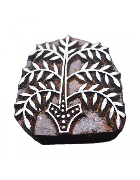 Indian Decorative Floral Textile Printing Block Stamps