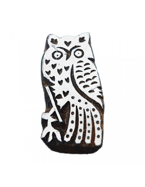 Handcrafted Owl Wooden Stamps