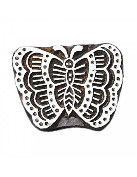 Butterfly Printing Textile Potter Stamp Heena Tattoo