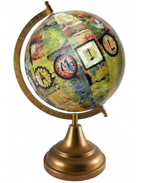Political Map Multicolor Tabletop 8 Inches Diameter Educational Globe