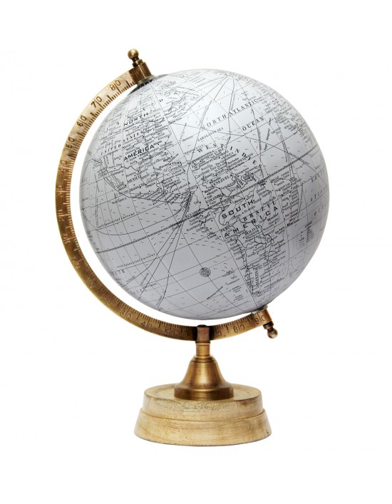 Rotating Globe Table Decor Ocean Geographical Earth Desktop