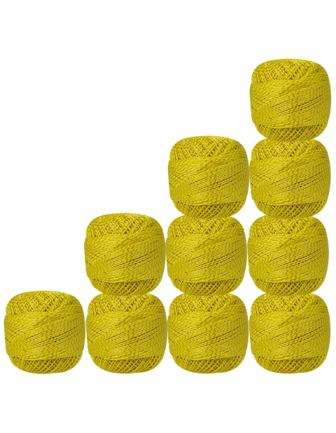 Gold Metallic Yellow Color used for making incredible craft, Each Ball is 20 gm