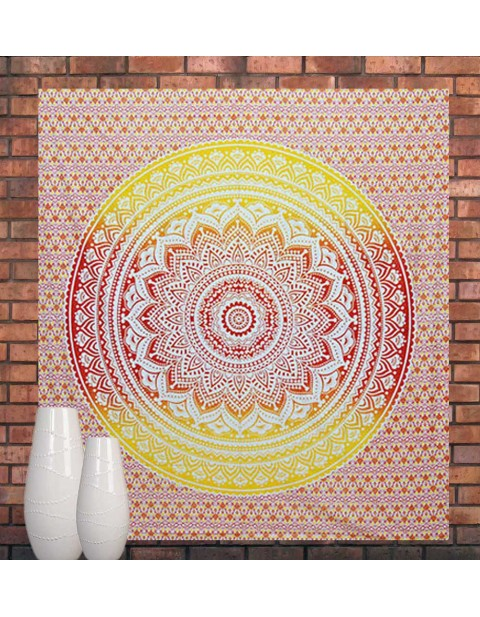 Wall Hanging Mandala Tapestry Indian Wall Art Queen Size