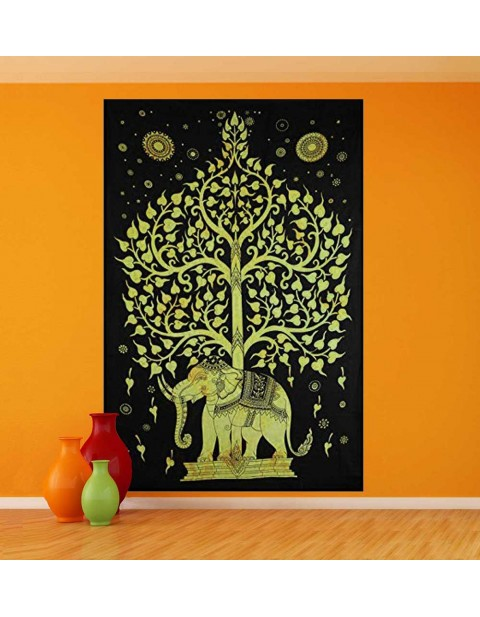 Multi-Purpose Wall Hanging Tree of Life Tapestry