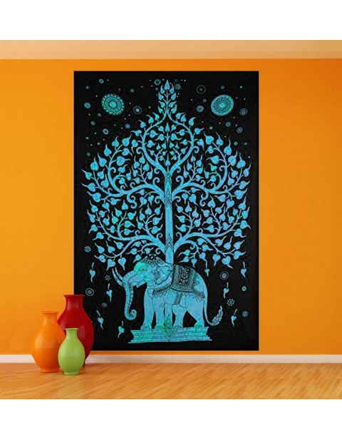 Wall Hanging Home Decor Tree of Life Tapestry